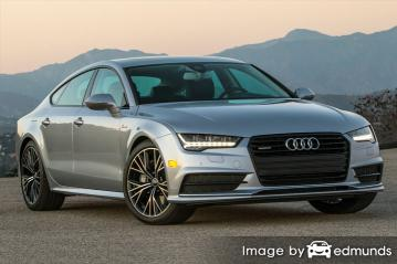 Insurance rates Audi A7 in Santa Ana